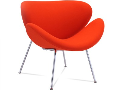 Orange Slice Chair by Pierre Paulin (Platinum Replica)
