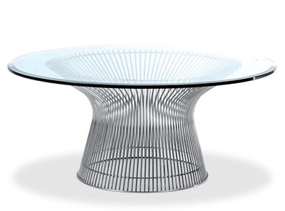 Platner Coffee Table 91cm (Platinum Replica)