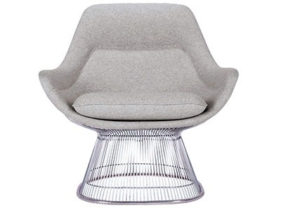 Platner Easy Chair (Platinum Replica)