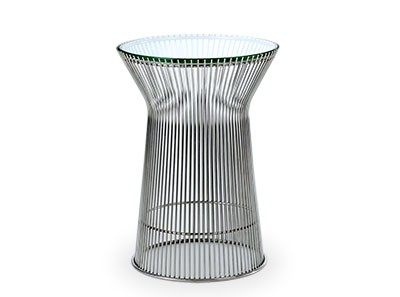 Platner Side Table 40cm (Platinum Replica)