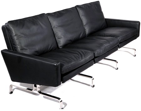 PK31 Sofa 3 Seater by Poul Kjaerholm (Platinum Replica)