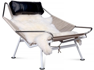 Flag Halyard Chair by Hans Wegner (Collector Replica)