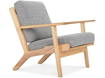 Hans Wegner Plank Chair | Platinum Replica