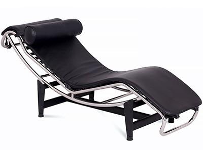 Le Corbusier LC4 Chaise Longue (Platinum Replica)