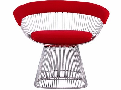 Platner Wire Chair (Platinum Replica)