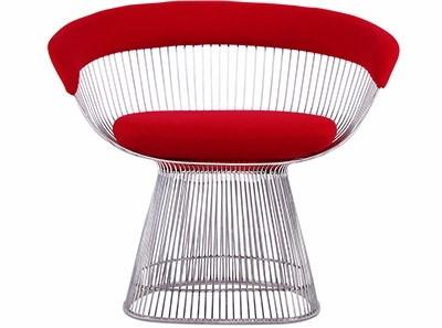 Platner Wire Chair (Platinum Replica)