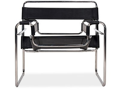 Wassily Chair by Marcel Breuer (Platinum Replica)