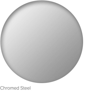 Chromed Steel