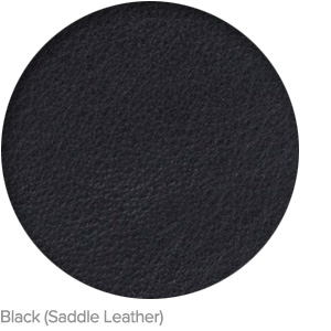 Black (Saddle Leather)