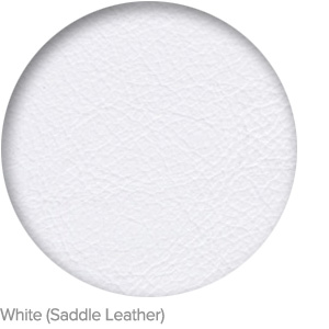 White (Saddle Leather)