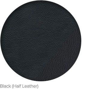 Black (Half Leather)