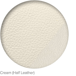 Cream (Half Leather)