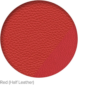 Red (Half Leather)