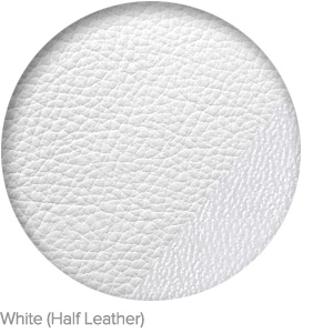 White (Half Leather)